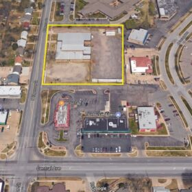 Site Plan Property Photo For Edgemoor Central Development For Lease Or Sale In Wichita KS By Occidental Management 2