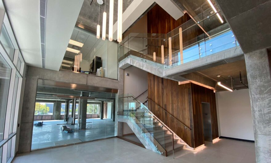 Commercial Real Estate for Lease - Ice House stairway