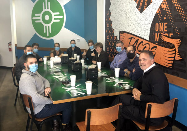 Occidental Management Team at Uno Mas for Lunch