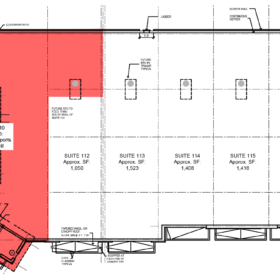 Floor Plans Available Space 2(West)